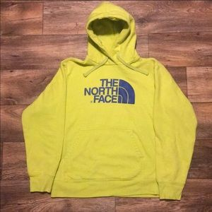 The North Face Lime Green Hooded Sweatshirt - SZ L